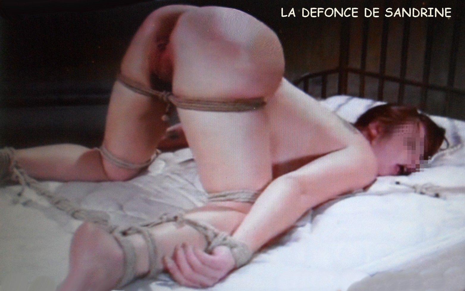 bondage femme photo de cul de salope